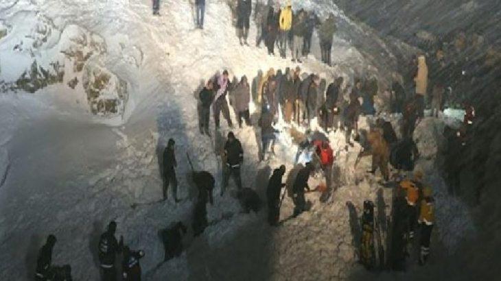 Van'da çığ faciası: 5 ölü, 2 kayıp