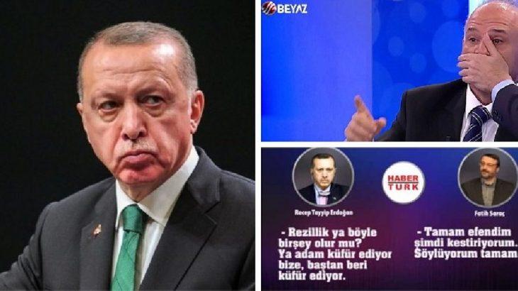 Erdoğan'a şok: Gökçek'in kanalı da'montaj değil' dedi