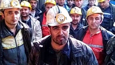 Çanakkale Yenice'de işçiler kendilerini maden ocağına kapatarak direnişe geçti