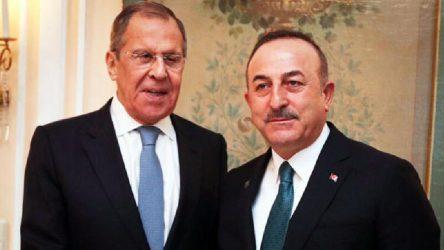 Lavrov ve Çavuşoğlu, Libya'da siyasi sürecin başlamasından yana