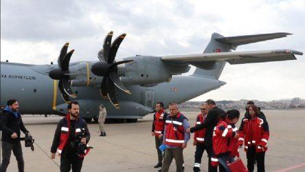 Çin'den getirilen 42 kişi Ankara'da karantina altında tutulacak