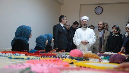 Diyanet İşleri Başkanı Erbaş: Kuran kursları şeytandan korunmuş bölgelerdir
