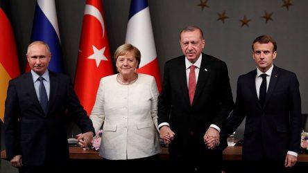 Merkel ve Macron'dan Putin'e: Erdoğan ile İdlib konusunda görüşmeye hazırız