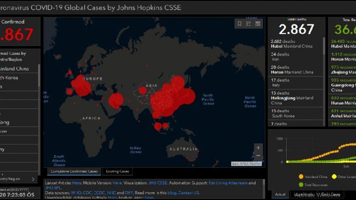 Dünya Sağlık Örgütü koronavirüs küresel risk seviyesini