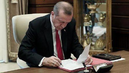 Erdoğan atamalara devam ediyor