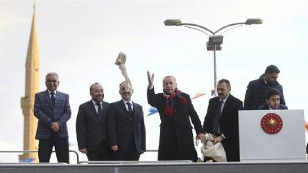 Erdoğan çığ haberini paylaştı, TOKİ'nin çalışmalarından bahsetti!