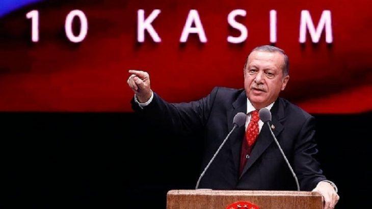 Erdoğan'ın Atatürk'ü eleştirdiği 10 Kasım konuşması okullara dağıtılıyor!