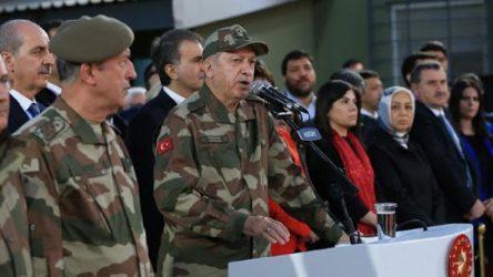 Erdoğan 'ilan' etti: Her yerde vuracağız