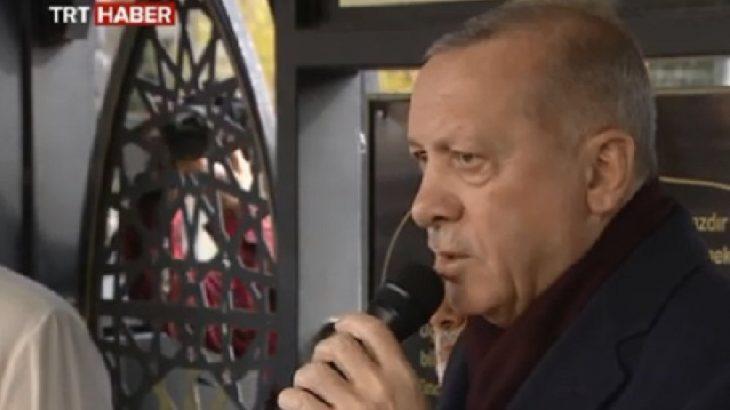 Erdoğan: Şehitler tepesi inşaallah boş kalmayacak, bizler de gülerek yürüyeceğiz
