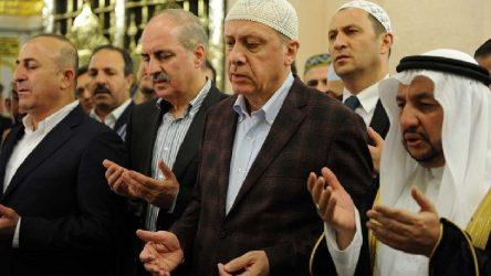 Diyanet'ten Erdoğan'a ters 'Kudüs' hutbesi