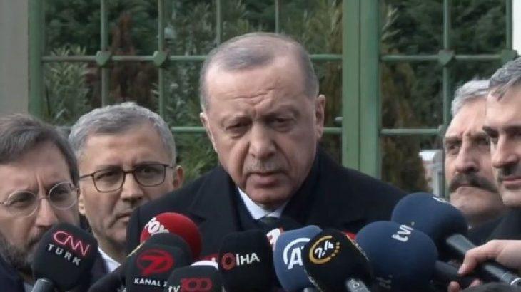 Erdoğan'savaş' dedi!