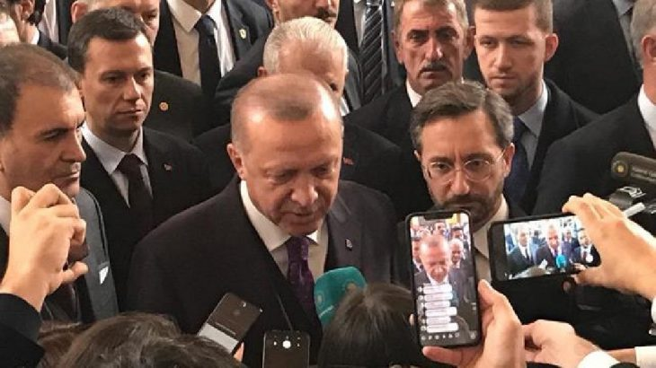 Erdoğan: Putin'le Rusya'nın verdiği hasarları ele aldık