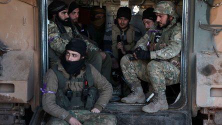 Erdoğan'ın Kuvayı Milliye'ye benzettiği ÖSO'cularda İŞİD arması