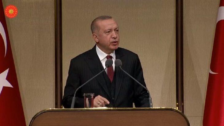 Erdoğan patronları 'sadaka' vermeye çağırdı