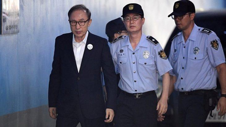 Eski Güney Kore liderine yolsuzluktan 17 yıl hapis