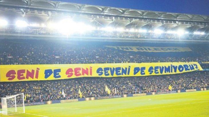 Fenerbahçe'den derbideki pankarta açıklama