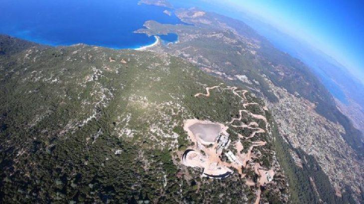 Fethiye'de 'teleferik projesi' için 69 bin metrekare orman tahrip edilecek