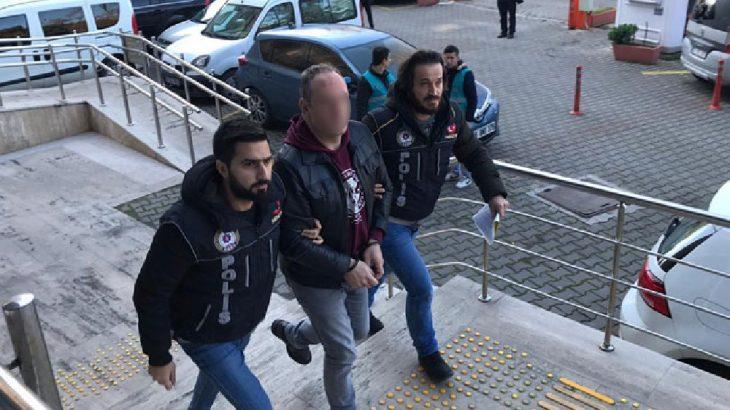 Uyuşturucu ticaretinden tutuklanan kişi öğrenci servisi şöförü çıktı