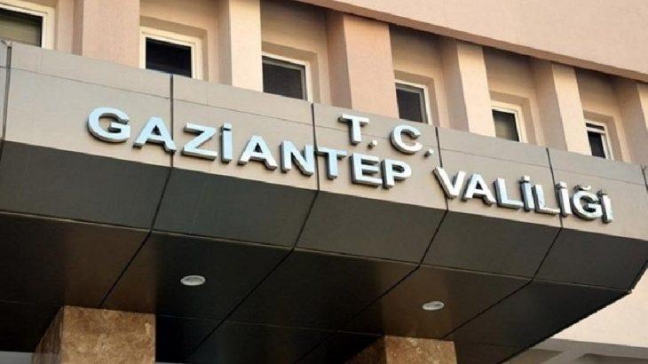 Gaziantep Valiliği'nden eylem ve etkinlik yasağı