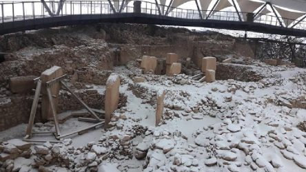 Göbeklitepe kar altında kaldı, arkeolog Çiğdem Köksal Schmidt isyan etti