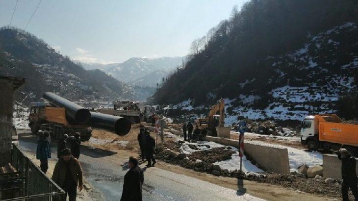 'Çevrecinin daniskası'nın memleketinde HES'e direnen köylüler gözaltına alındı