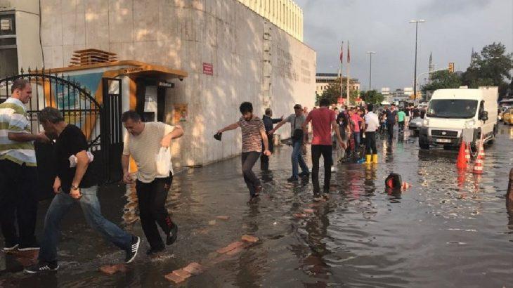 Meteoroloji kuvvetli yağış uyarısında bulundu