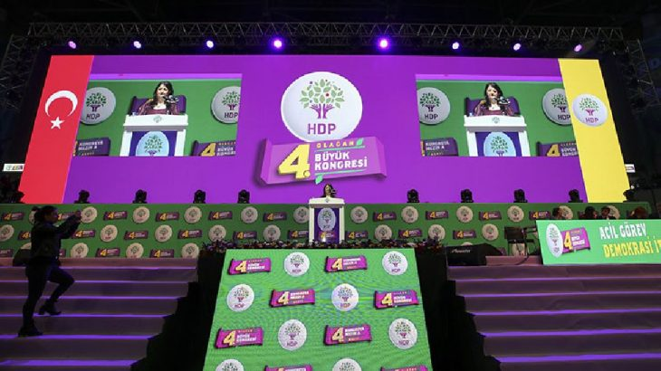 HDP kongresinde Ali Babacan'ın mesajı okundu
