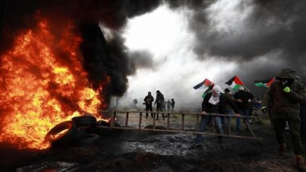 İsrail askerlerinin saldırısı sonucu Filistinli gösterici öldü