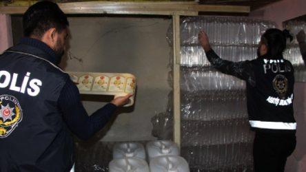 İstanbul Fatih'te sahte içki operasyonu