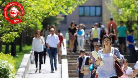 İzmir'de Alternatif Üniversite'ler devam ediyor