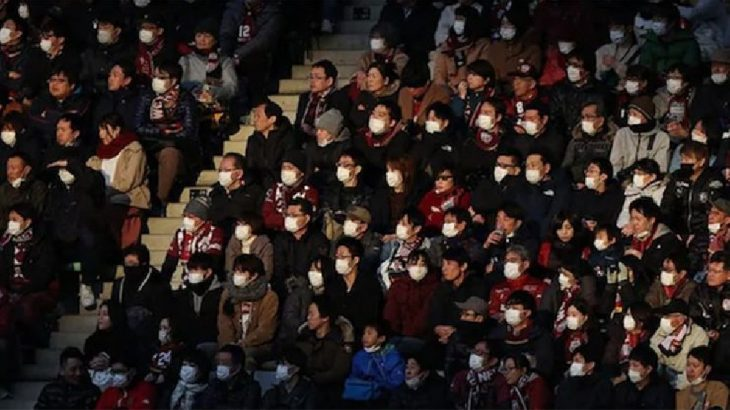 Japonya'da futbola koronavirüs arası