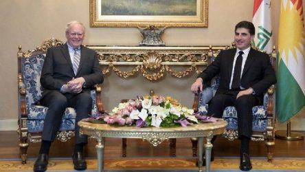 Jeffrey'den Barzani'ye ziyaret: Erbil'de Suriye pazarlığı