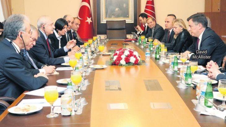 Kılıçdaroğlu AP heyetiyle görüştü, 'hazırız' dedi