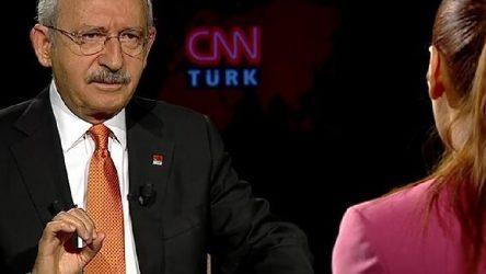Kılıçdaroğlu'CNN Türk boykotu' ile ilgili konuştu