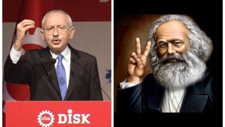 Kılıçdaroğlu DİSK üyelerine seslendi, işçileri 'Marx'a uymamaya' çağırdı!