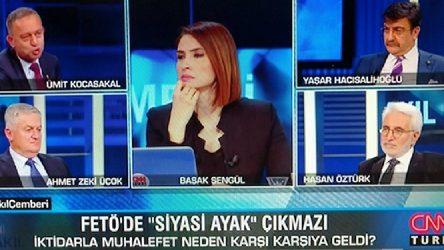 Ümit Kocasakal boykotu dinlemedi, CNN Türk'e çıktı
