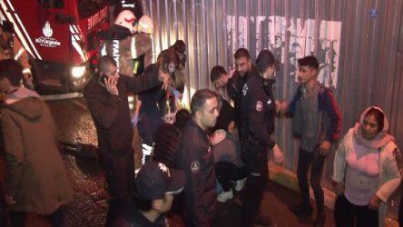 İstanbul'da itfaiye aracı 3 kişiyi ezdi