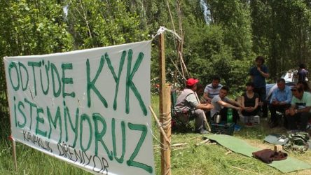 'KYK yurdu' davasında ODTÜ Rektörlüğü'nün itirazı reddedildi