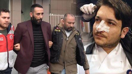 Doktorun burnunu kıran sanık ilk duruşmada tahliye edildi