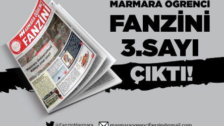 'Kampüsün sesi' Marmara Öğrenci Fanzini'nin 3. sayısı çıktı!