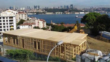 Mehmet Cengiz'in inşaatı mühürlendi