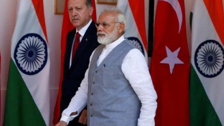 Hindistan'dan Türkiye'ye tepki: Büyükelçi Dışişleri'ne çağrıldı