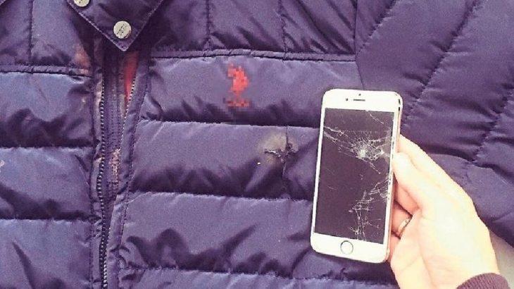 Muğla Ortaca'da film gibi olay: Kurşun cep telefonuna isabet etti, kurtuldu