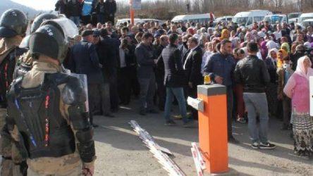 Ordu İlküvez'de çöp protestosu: 6 gözaltı