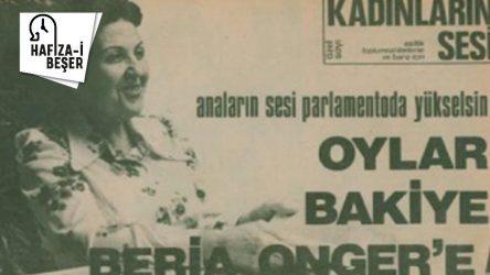 14 Şubat 2015: İKD'nin ilk genel başkanı Bakiye Beria Onger hayata gözlerini yumdu...