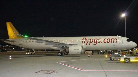 Pegasus uçağında'yangın' paniği