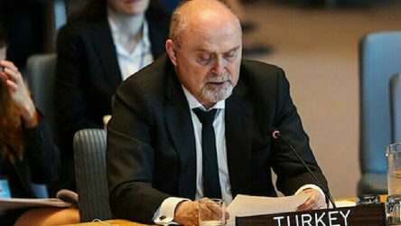Türkiye BM Daimi Temsilcisi Feridun Sinirlioğlu: Türkiye savaş istemiyor