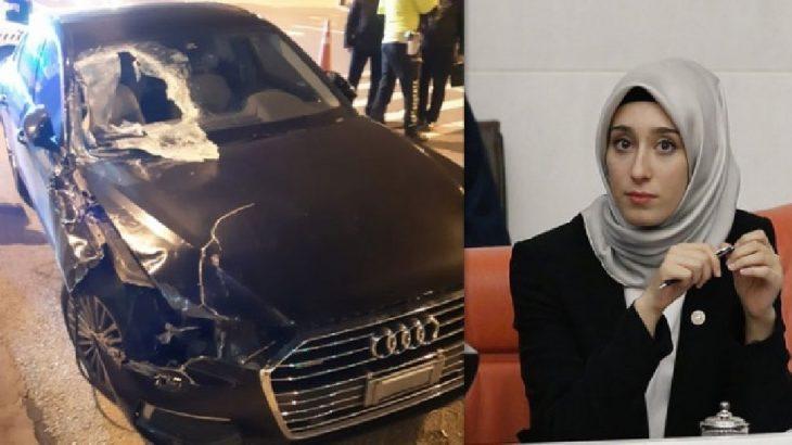 AKP'li milletvekili kaza geçirdi