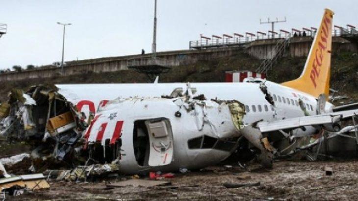 Sabiha Gökçen'deki uçak kazası soruşturmasında kaptan pilotun ifadesi ertelendi