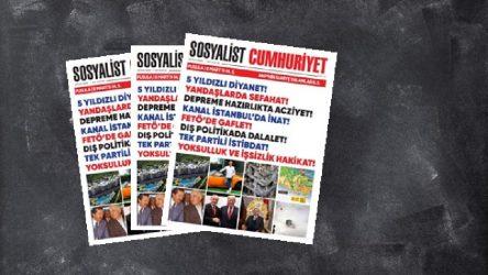 Sosyalist Cumhuriyet 160. sayısıyla alanlarda